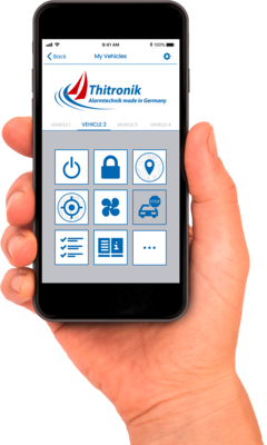 Thitronik WiPro Alarmanlage für Wohnmobile