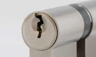 Abus A93 Schließzylinder mit Not- und Gefahrenfunktion