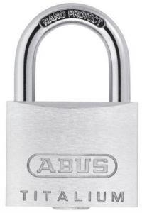 ABUS Titalium Vorhangschloss 64TI/50 Gleichschließend 6511
