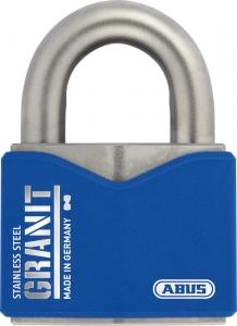 Vorhangschloss Stahl 37ST/55 #SZP Profil mit Sicherungskarte