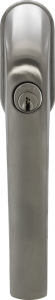 ABUS FG300 Edelstahl-Look abschließbarer Fenstergriff Gleichschließend AL0145