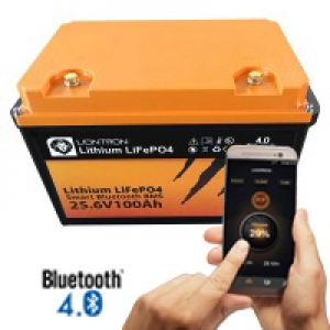 LIONTRON LiFePO4 25,6V 100Ah LX Smart BMS mit Bluetooth
