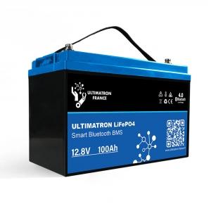 Ultrimation LiFePo4 Lithium Batterie 100AH YX Smart BMS 12,8V