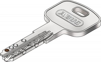Abus XP2 XP2S Nachschlüssel Ersatzschlüssel nach CODE