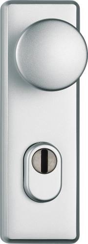Stabiler Tür-Schutzbeschlag für Feuerschutztüren Kurz