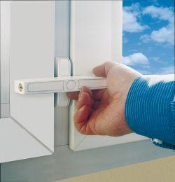 ABUS 2520 Fenster-Zusatzschloss für Doppelflügelfenster