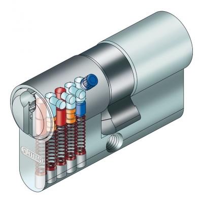 ABUS XP10 Türzylinder mit Sicherungskarte, Not- Gefahrenfunktion