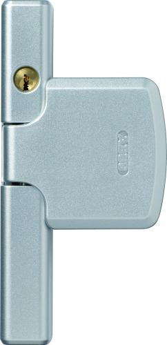 ABUS FTS206 Silber Fenster-Zusatzschloss