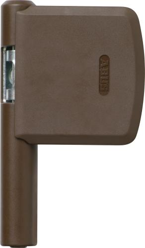 ABUS FAS 101 Scharnierseiten-Sicherung FAS101 Braun