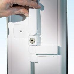 WinSafe WS 22 Fenstersicherung mit Doppelriegel