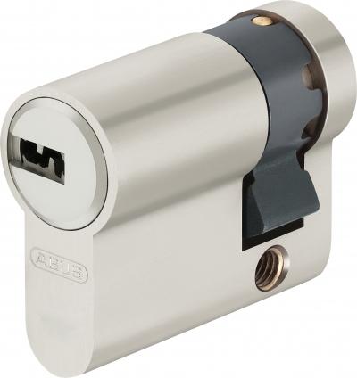 ABUS EC660 Halbzylinder mit Sicherungskarte, Wendeschlüssel
