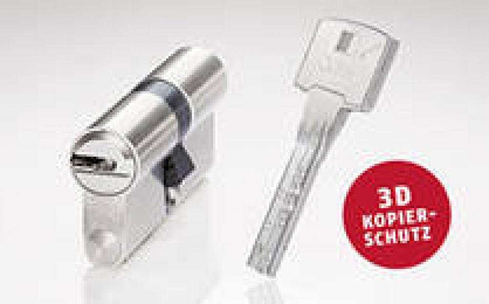 ABUS Bravus4000 Hochsicherheits-Schließzylinder Doppelzylinder 28//32mm