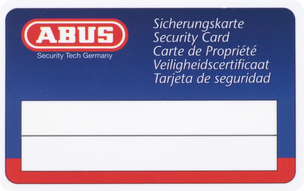 abus xp20s halb schlie zylinder mit sicherungskarte haussicherheitstechnik weber. Black Bedroom Furniture Sets. Home Design Ideas
