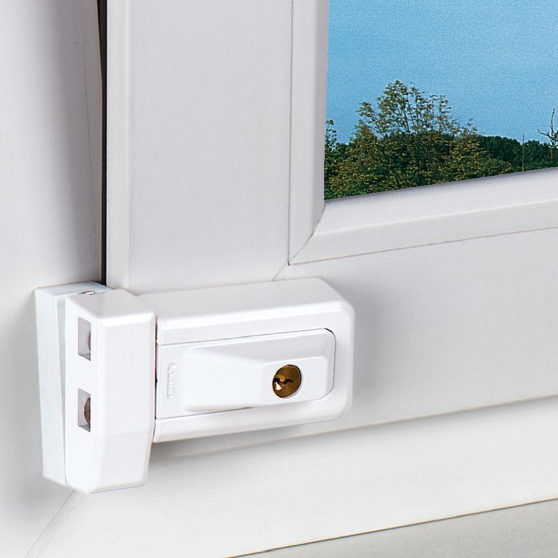 Abus fenster zusatzschloss 3030 haussicherheitstechnik weber for Fenster 0 finanzierung