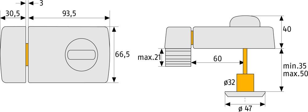 abus t r zusatzschloss 2110 haussicherheitstechnik weber. Black Bedroom Furniture Sets. Home Design Ideas