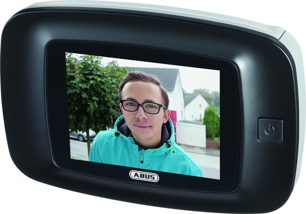 abus dts3214 digitaler t rspion kamera und bildschirm haussicherheitstechnik weber. Black Bedroom Furniture Sets. Home Design Ideas