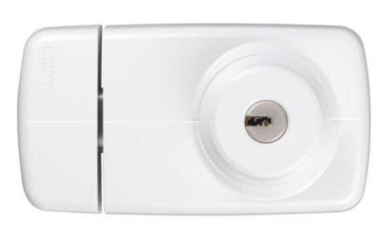 Tür artikel  ABUS 7035 elegantes Tür-Zusatzschloss mit Sperrbügel ...