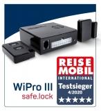 WiPro III safe.lock CAN-Bus Funk-Alarmanlage für Reisemobile auf Fiat Ducato, Citroen Jumper, Peugeot Boxer