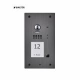 BALTER EVIDA Graphit RFID Edelstahl-Türstation für 1 Teilnehmer