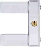 ABUS Fenster-Zusatzschloss 2530 für Ein- oder Doppelflügelfenster Gleichschließend