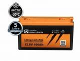LIONTRON Arctic Lithium LiFePO4 12,8V 100Ah LX BMS mit Bluetooth