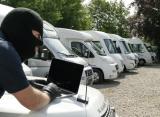 Einbau der Thitronik WiPro III Alarmanlage in Ihr Wohnmobil, Ford Transit