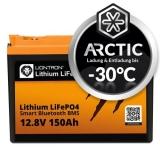 LIONTRON LiFePO4 12,8V 150Ah LX Arctic BMS mit Bluetooth