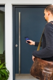 ABUS Bluetooth®-Türschlossantrieb HomeTec Pro CFA3100 Weiß