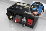 200Ah 12,8V LiFePO4 Premium Lithium Batterie | 200A-BMS-2.0 | 500A Bluetooth Mess-Shunt | Ducato Ford PSA | F12-200XB1
