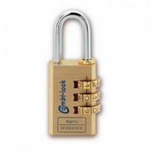 Zahlen-Vorhangschloss Combi Lock 80/40