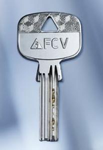 Nachschlüssel FCV R7600 nach Code