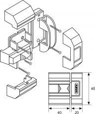 ABUS SR30 Schieberiegel