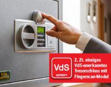 Burg Wächter MT24 Werschutzschrank Karat Fingerscan