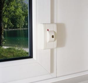 ABUS FTS99 automatisch verschließendes Fenster-Zusatzschloss