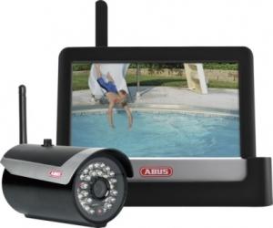 ABUS 7'' Heim-Videoüberwachungsset Touch & App