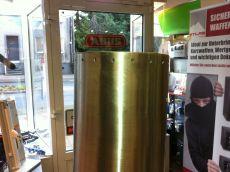 Motorline fester Poller 400mm mit Beleuchtung