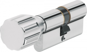 ABUS Türzylinder D6X Not- und Gefahrenfunktion und Wendeschlüssel