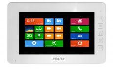 Neostar 7 Touch-Screen Videostation weiß, 4-Draht Technik