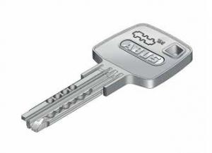 ABUS EC660 Außenzylinder mit Sicherungskarte, Wendeschlüssel